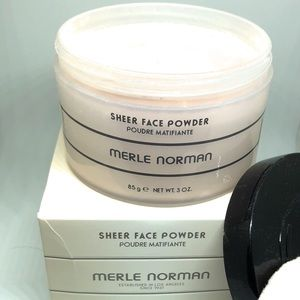 Merle Norman sheer face powder